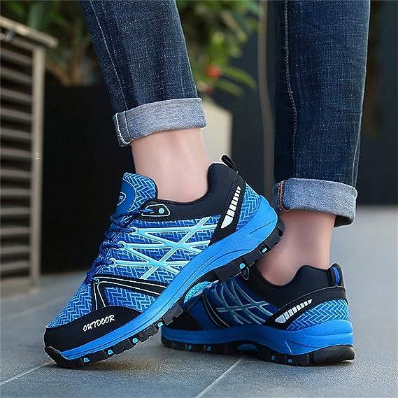 LuckyGirls Zapatos de Deporte, Zapatillas de Deporte Hombres Zapatos de Gimnasia para Caminar de Peso Ligero Zapatillas de Deporte Zapatos Deportivos para Hombre 39-45: Amazon.es: Ropa y accesorios