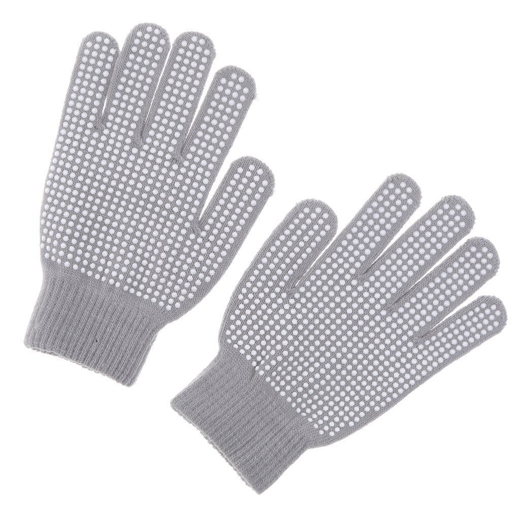 CUTICATE Stretchable Knitted Gloves for Kids Ladies Men Horse Riding Cycling Outdoors
