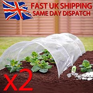 Nutleys 20m x 1.5m Biodegradeable Weed Control Mulch Film