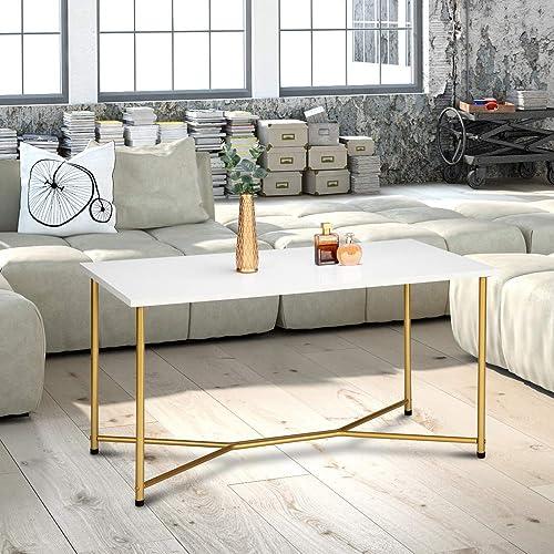 SSLine Square Coffee Table,Modern Living Room Coffee Table