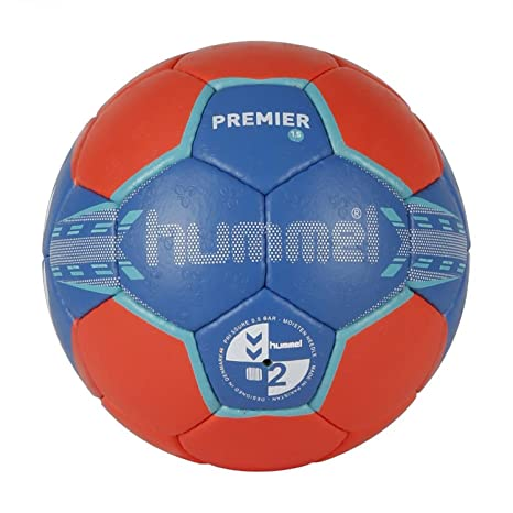 hummel Handball 1,5 Premier - Pelota de Balonmano, Color Azul ...