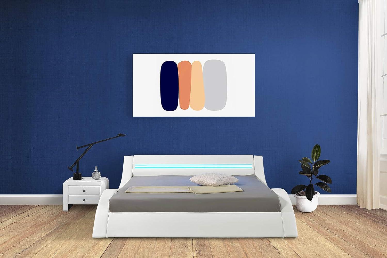 Cama de plataforma Moderna de muebles HYPNIA