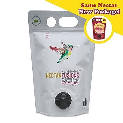 Sweet-Seed, LLC Nectar Fusions Hummingbird Food: All-Natural & Dye Free
