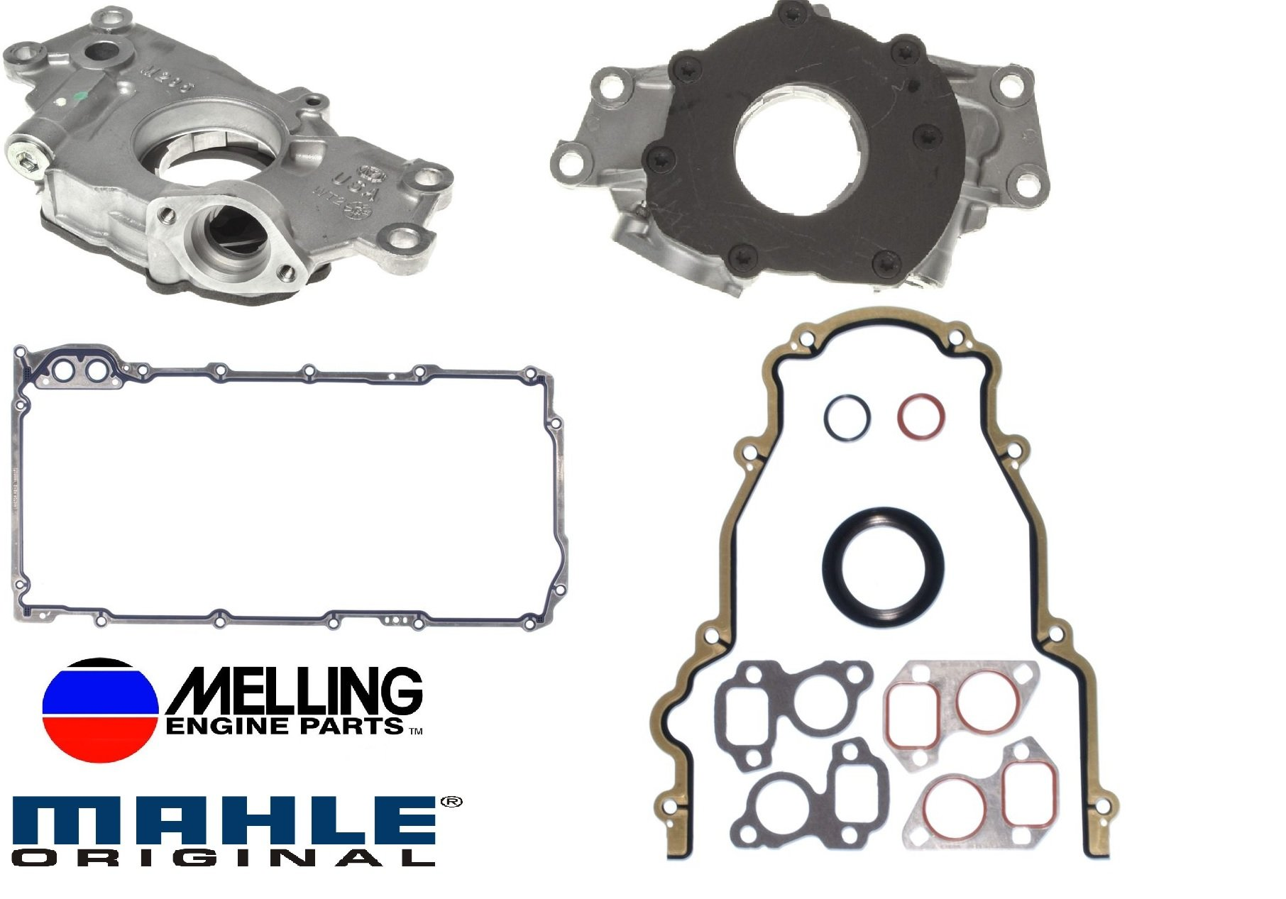 1999-2009 Chevrolet GMC 4.8L 5.3L 6.0L 325 Oil Pump & Replacement Gaskets (Oil Pump Change Kit) by Guardian Engine Kits