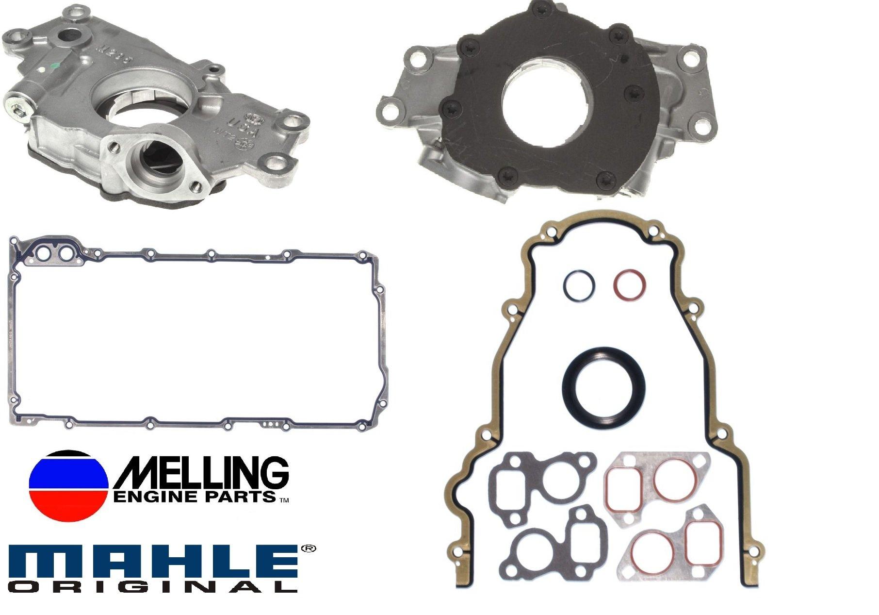 1999-2009 Chevrolet GMC 4.8L 5.3L 6.0L 325 Oil Pump & Replacement Gaskets (Oil Pump Change Kit)