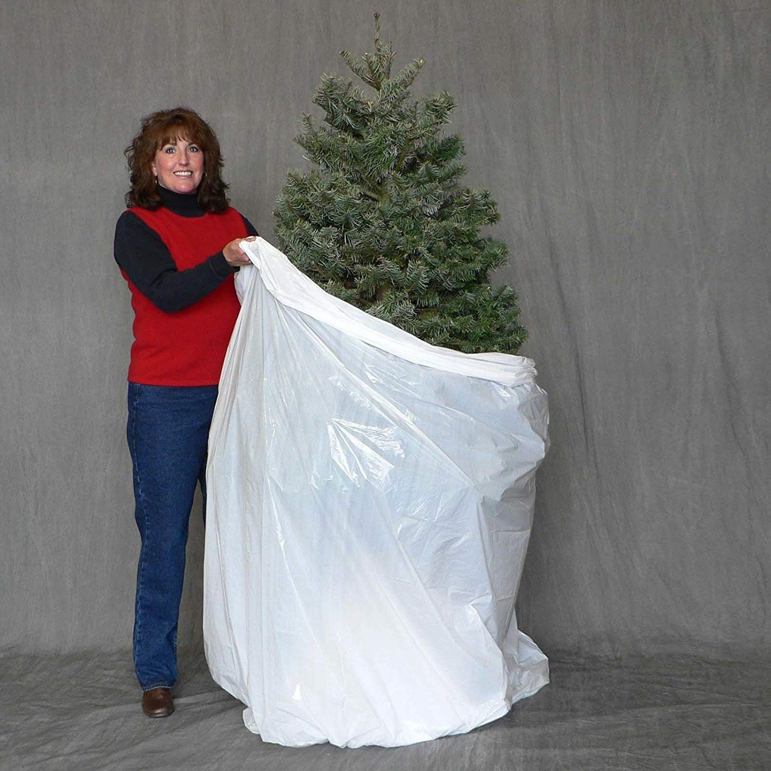 Jumbo Christmas Tree Disposal and Storage Bag - Fits Trees to 9-Feet