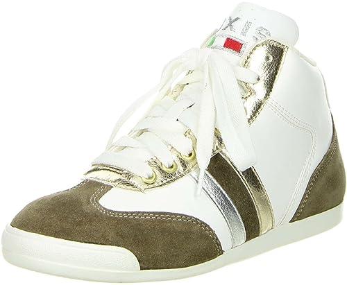 buy popular 9aea1 785c6 NOXIS 56-0C116 Bco/Tort/Plat, Sneaker donna, Bianco (bianco ...