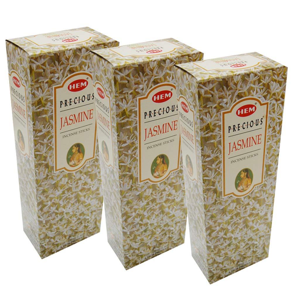 HEM INCENSE Hem Precious Jasmine Incense 3 Boxes - Bulk order 360 Sticks per order