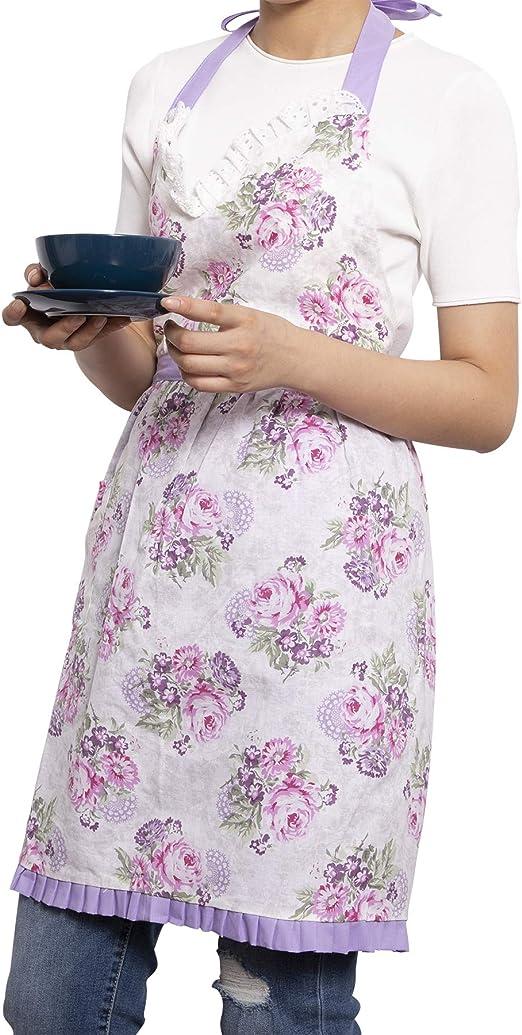 Neoviva algodón delantal de cocina de tela para niños chicas ...