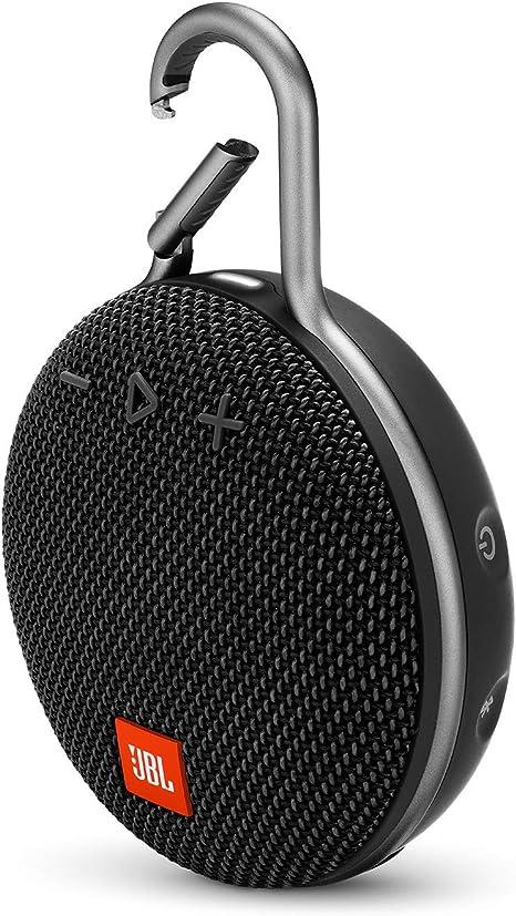 Amazon.com: JBL Clip 3 Portable Bluetooth Speaker - Midnight Black ...