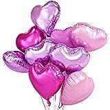 Herz Ballons Helium Ballons Herz Rosa Luftballons Hochzeit 46cm Satz von 12