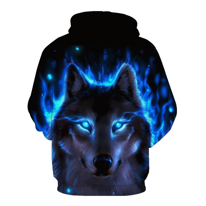 Matterin Christiao 3D War Wolf Print Hoodies Sweatshirt Men Women New Autumn Men Hooded Sweatshirts Harajuku Moletom Hip Hop Streetweat 1189 6XL at Amazon ...