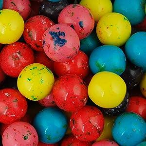 Gumballs for Gumball Machine – 1 Inch Berry Mix Bubble Gum Balls Bulk 2.5 Pound