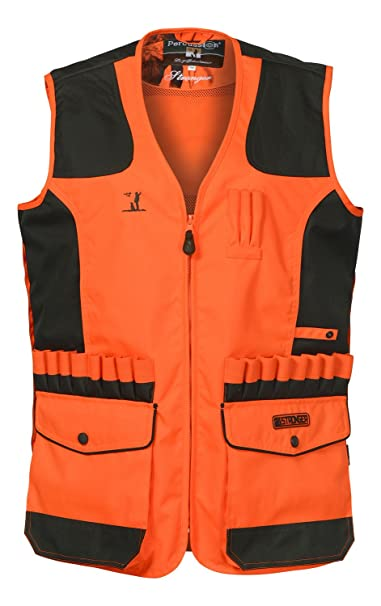 Percussion – Chaleco de caza Stronger Percussion-S, color naranja, tamaño XXXL: Amazon.es: Ropa y accesorios