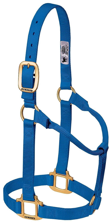 Weaver Leather ホルター 調節不可 B0009SNXOS B0009SNXOS Large Horse|ブルー ホルター Leather ブルー Large Horse, 北方町:683bfd0e --- krianta.ru