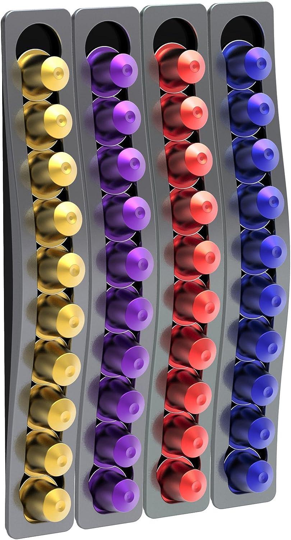 Capstore TavolaSwiss 50.Wavegris color gris Dispensador de c/ápsulas para pared