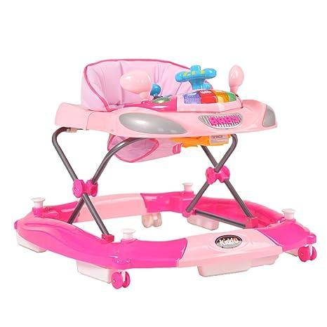 Kiddu Harley Rocker - Andador para bebé (6 meses), color rosa ...