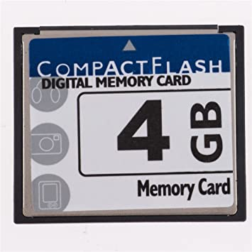 Amazon.com: QingManGuo New 4GB Compact Flash (CF) Card Speed ...