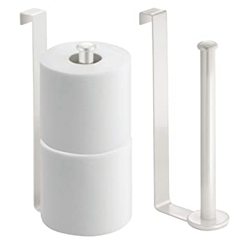 Amazoncom Mdesign Metal Wire Over The Tank Toilet Tissue Paper