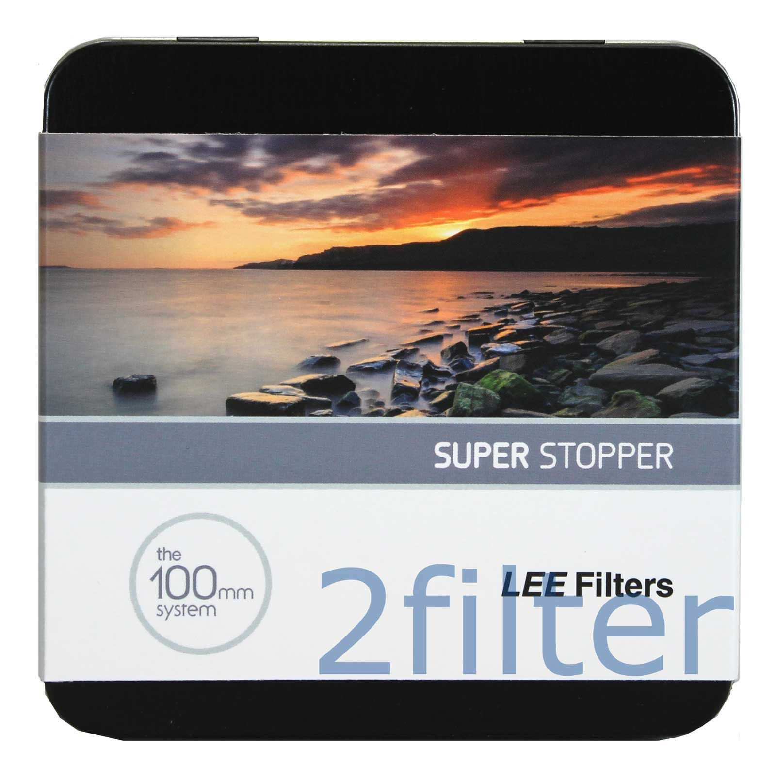 Lee Filters 100mm Super Stopper 4.5 ND Filter (15-Stop) by Lee Filters