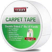 YYXLIFE Dubbelzijdige tapijttape voor gebied tapijten tapijt zelfklevende tapijt grijper verwijderbaar multifunctioneel…