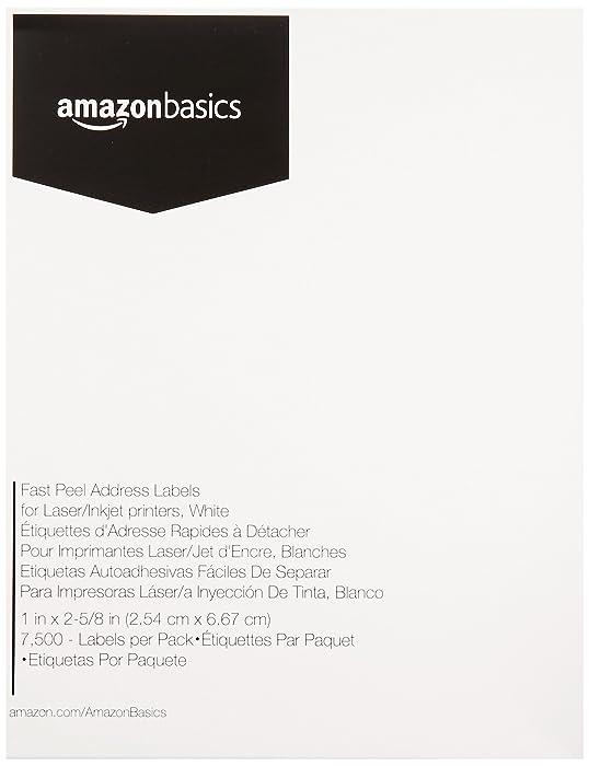 The Best Amazonbasics Fast Peel Labels