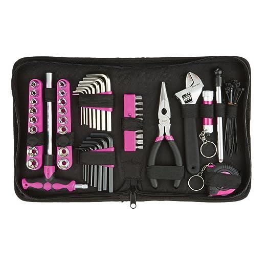 Juego de herramientas de The Original Pink Box PB85TK con ...