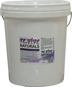 Re-vive Naturals Food Grade Quality Magnesium Chloride Flakes (35-Pound Tub)
