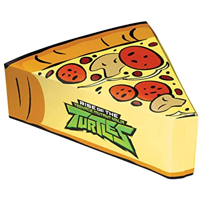 Rise of the TMNT™ Pizza Shaped Favor Box: Toys & Games
