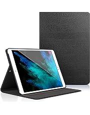 Zerobox Apple iPad 2018 9.7/iPad 2017 9.7/iPad Air 2/iPad Air 9.7 inch Case,Slim Book Style Stand with Auto Sleep/Wake Screen Protective Smart Cover (Black)