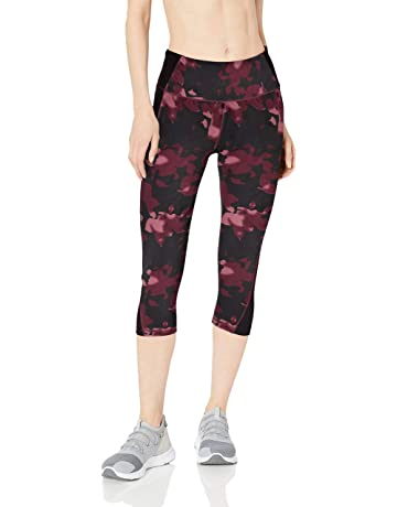 c32393c9d9 Amazon Essentials Women's Performance Mid-Rise Capri Active Legging