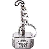 VB Retail Silver Thor Hammer Keyring & Keychain