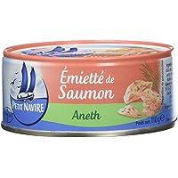 Petit Navire Emietté de Saumon Aneth 110 g