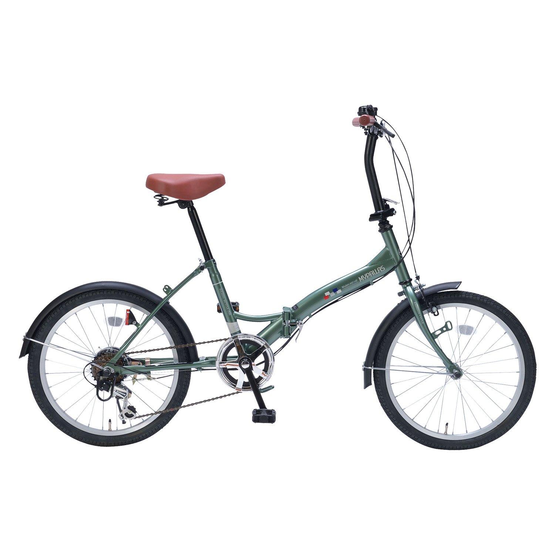 My Pallas(マイパラス) 折りたたみ自転車 20インチ 6段変速 M-209  アイビーグリーン B017R188US