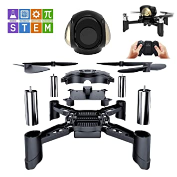 STEM toys Mini Rc Racing Drone Quadcopter 2.4 Ghz Bricolaje ...