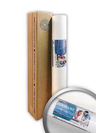 18,75/m2/rollo de 25/metros Norma Fieltro 150/g renovi ervlies glattvlies lisa Papel pintado con pintado de blanco pintor