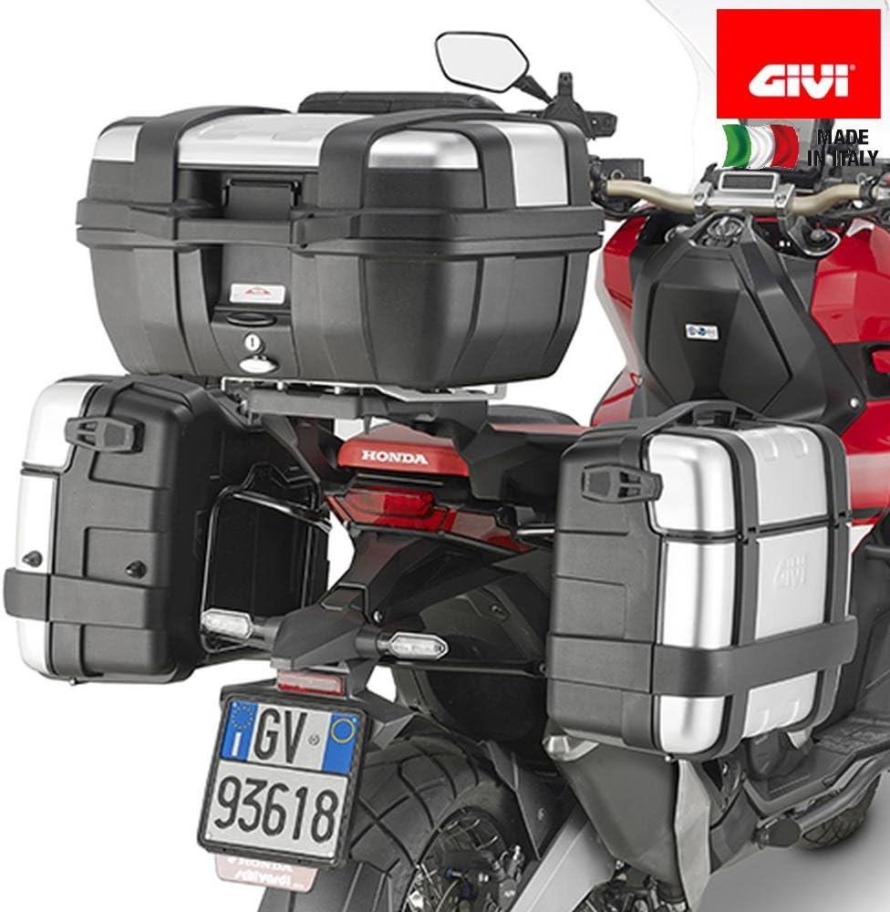 Givi Pl1158 Seitenkoffer Träger Stahlrohr Schwarz 40 Auto