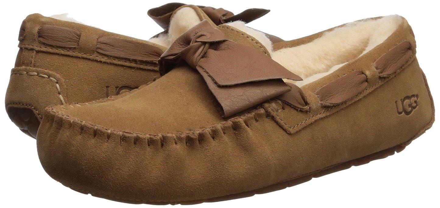 3394fbabf68 UGG Womens Dakota Leather Bow Slipper: Amazon.ca: Shoes & Handbags