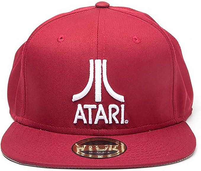 Atari Gorra de Beisbol Classic Logo Nuevo Oficial Retro Gamer Rojo ...