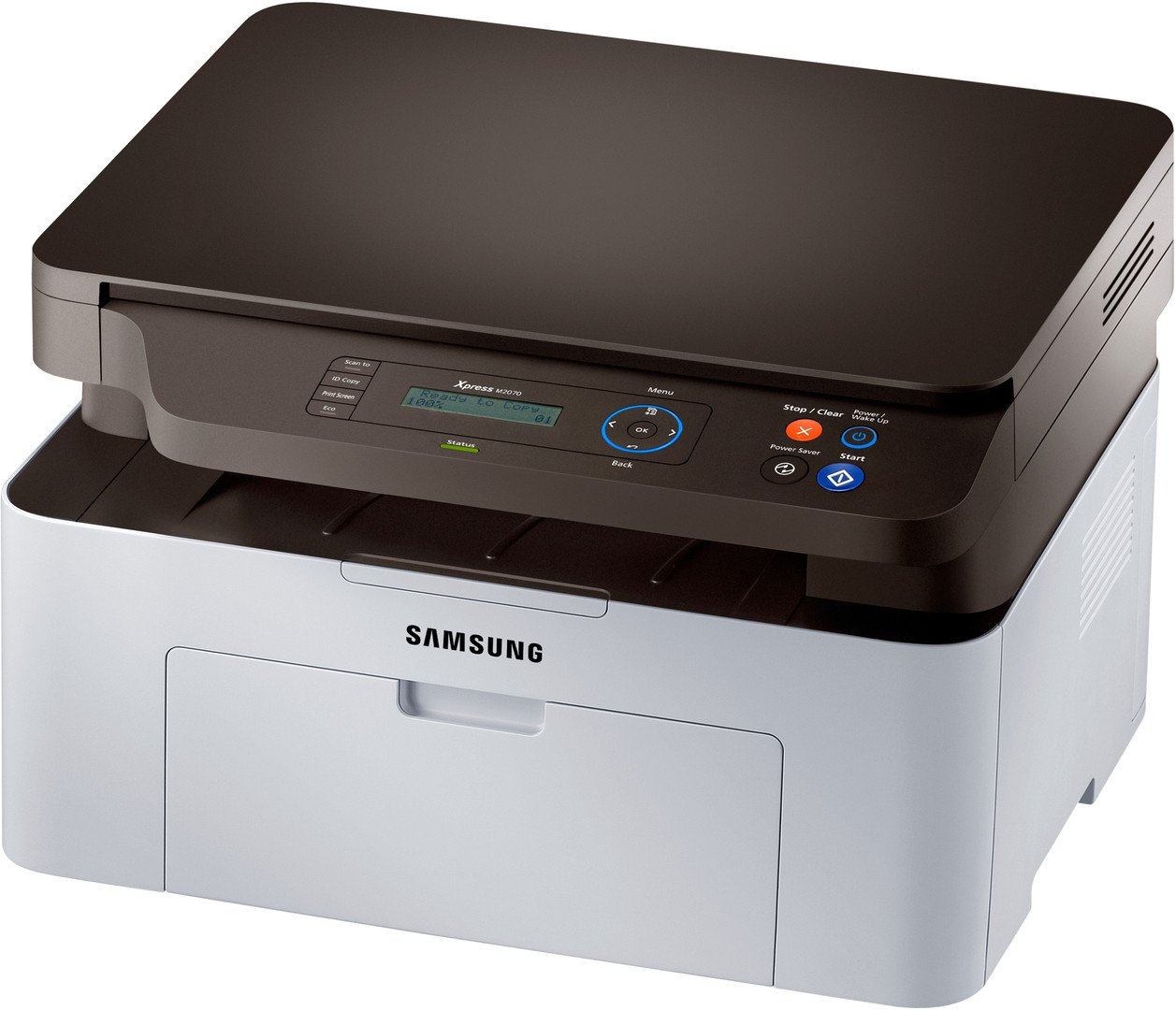 Samsung m2070 multifunction laser printer (unboxing, quick review.