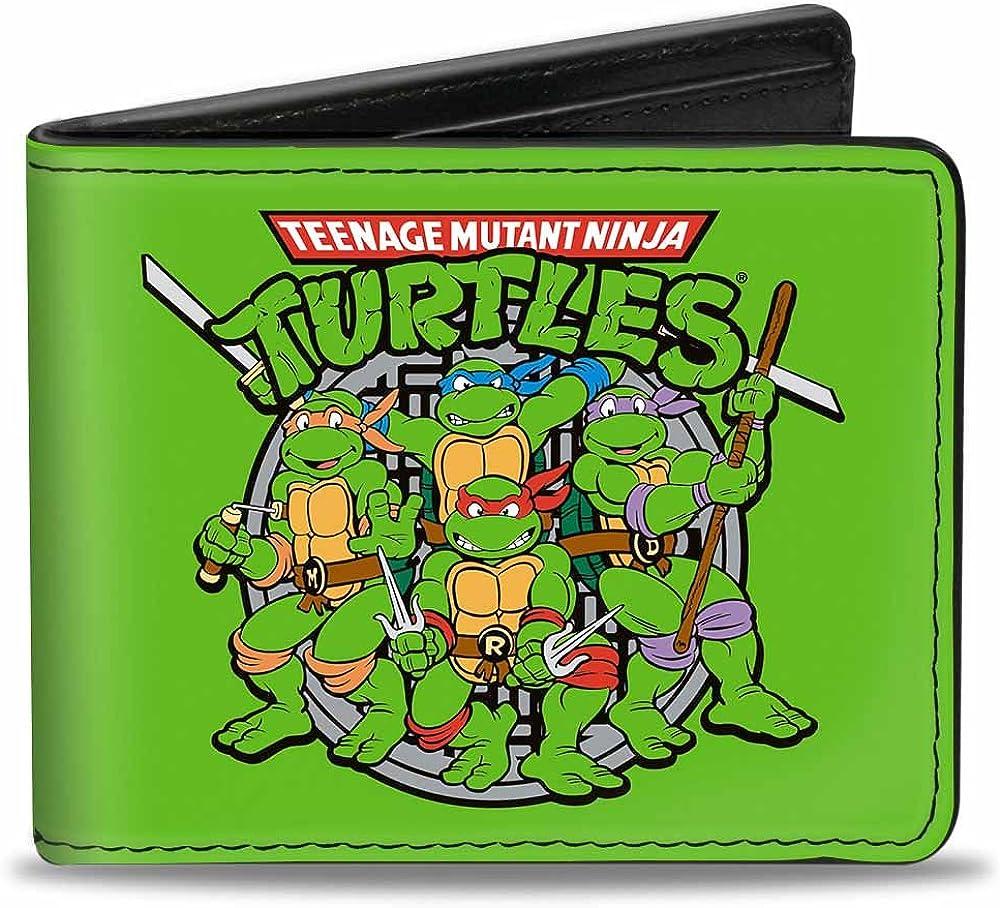 Amazon.com: Buckle-Down Mens Wallet Classic Teenage Mutant ...