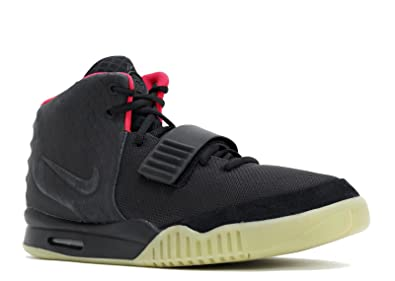 new style 6bfba d843f Amazon.com | NIKE Air Yeezy 2 NRG Black Solar Red Style # 508214-006 ...