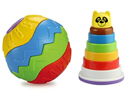 Cheap Educational Toys : Buy bsa puzzle ball rock n stack multicolour deferent