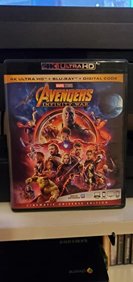 Avengers: Infinity War (Plus Bonus Content) Great product but no slip sleeve as advertised