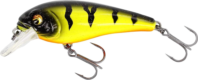 Westin Bullybite Crankbait Floating Barschwobbler Wobbler zum Spinnfischen auf Barsche /& Forellen Barschk/öder zum Spinnangeln