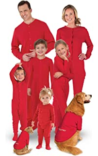 0c29d82455 Amazon.com  PajamaGram Cotton Dropseat Footie Onesie Pajamas for ...