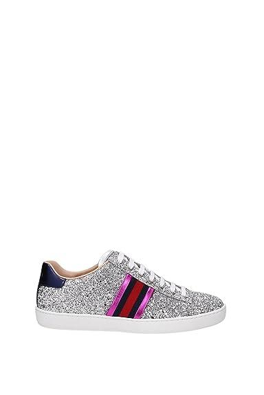 ea0657ede217 Gucci Sneakers Women - Glitter (475213KSP60) UK: Amazon.co.uk: Shoes ...