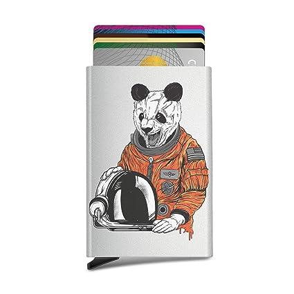 Panda Rainbow - Funda para tarjeta de identificación o ...