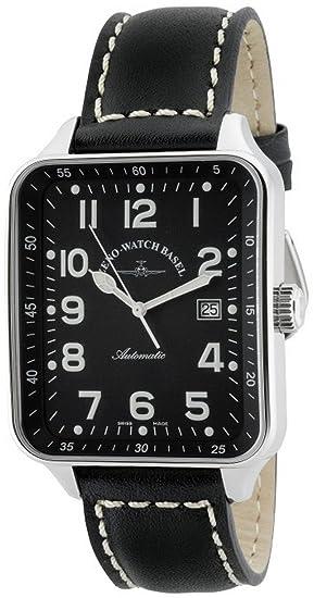 Zeno-Watch Reloj Mujer - SQ Pilot Automática - 124-a1