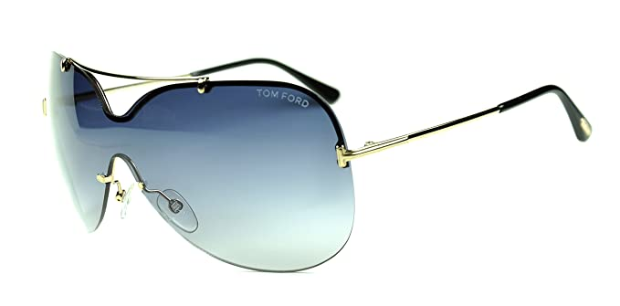 922ba12798 Image Unavailable. Image not available for. Color  Tom Ford TF 519 Ondria  color 28B Gold Blue gradient lenses new